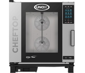 Teutonia XEVC-0711-EPR Plus - 7 GN 1/1 ChefTop Mind.Maps Electric Combi Steam Oven